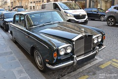 Rolls Royce Silver Shadow (Monde-Auto Passion Photos) Tags: voiture vehicule auto automobile rollsroyce rolls royce berline ancienne classique collection silvershadow silver shadow france paris