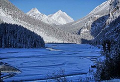 The Sweeping Saskatchewan River Valley in Banff National Park (PhotosToArtByMike) Tags: icefieldsparkway saskatchewanrivervalley banffnationalpark canadianrockies banff albertacanada mountain mountains alberta