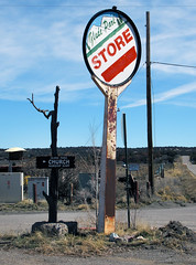 Glade Park (arbyreed) Tags: arbyreed gladepark colorado mesacountycolorado rural unincorporatedcommunity ranching rockymountains 7000feetamsl 2100metersamsl strore ruralstore communitystore gasstation momandpopstore sign paintedsigns oldsign ruralstoresign 81523