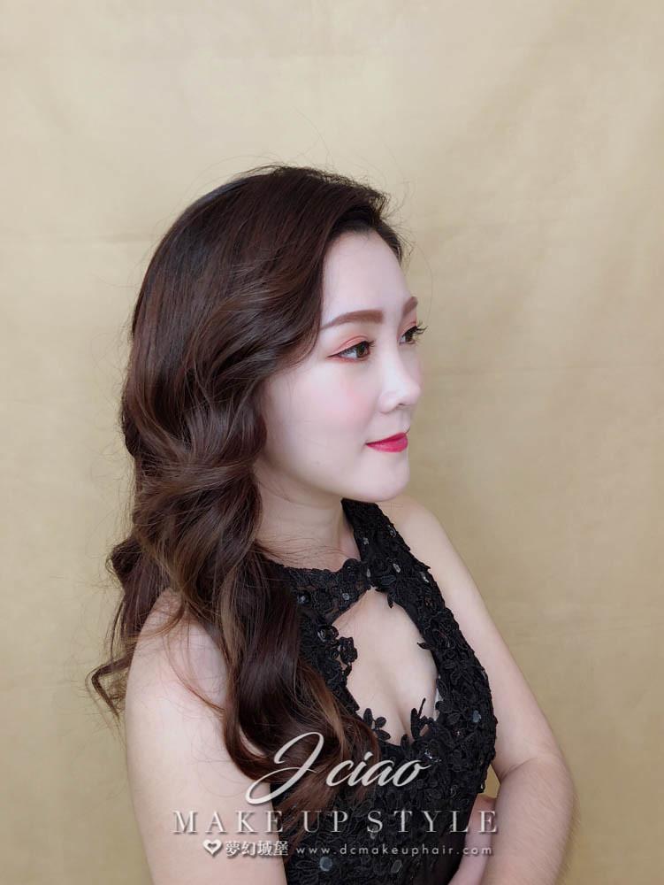 【新秘婕喬】新娘造型創作 / 浪漫捲髮造型