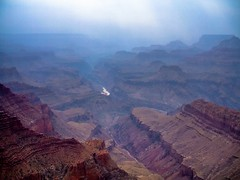 Grand Abyss (World-viewer) Tags: haze nature nationalgeographic ngc canyons cliffs height majestic vista scenic river smoke horizon breathtaking beautiful outdoor landscape fuji explore wander travel grandcanyon