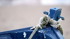 Blue boat (patrick_milan) Tags: blue boat ship fishing rope bretagne finistere portsall