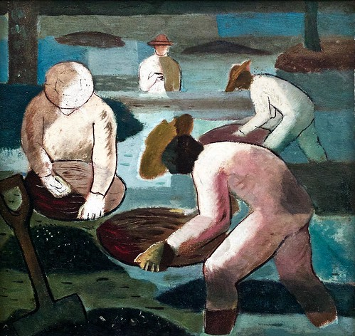 Miner [Who extracts gold by panning] (1938) - Candido Portinari (1903 - 1962)