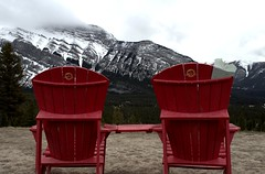 2 Chairs, No Cares (Picsochris) Tags: banff chairs mountains relaxing