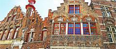 Maisons à Bruges, Belgium (claude lina) Tags: claudelina belgium belgique belgië bruges brugge maisons houses architecture