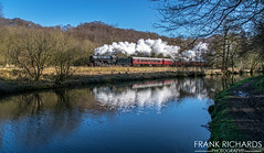 6046 | Coal Pit Wood | 25th Feb '18 (Frank Richards Photography) Tags: united states army transportation corps s160 6046 coal pit wood cvr churnet valley railway train steam february 25th 2018 nikon d7100 moorlands staffordshire staffs locomotive black usa consall river canal cauldon stoke uk england