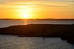 Good Morning Abu Simbel (pjpink) Tags: sun sunrise morning lakenasser lake desert nubia golden abusimbel egypt january 2019 winter pjpink 2catswithcameras