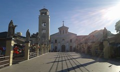 Manaoag Church (suerteflor) Tags: formations structural tower adventures resorts floating cottage stream rock church engineering office developers enjoy life greengraybrown webbers iloveblackoutfit siteinspection ephesians61018 ilovered infinity love red