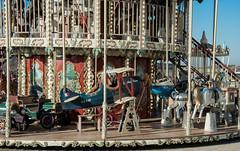 Carousel (https://tinyurl.com/jsebouvi) Tags: 14février2019 letouquet aprèsmidi bluesky carrousel ciel flag game manège mer nature paysage photo plane wheel 14february2019 afternoon carousel sky sea landscape