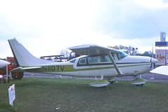 Cessna U206F Stationair N1107V (KenFCD) Tags: cessna u206f stationair n1107v bigginhill