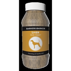 Tasty Topper Liver - Pot (net 500g) (BarkerandBarker) Tags: best dog treats natural uk