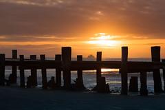 Wyk auf Föhr (wolffslicht) Tags: wyk föhr süderende steg jetty sundown ferry sunlight evening winter northsea germany outdoor