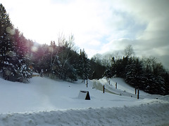 2019-02-16 (clarinetgirl) Tags: 20190216 skitrip quebec monttremblantday7 busride skitrip2019 monttremblant2019