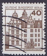 Deutsche Briefmarken (micky the pixel) Tags: briefmarke stamp ephemera deutschland bundespost berlin dauermarke gebäude building schloss castle wolfsburg niedersachsen