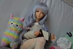 Relaxing weekend (Shatiel85) Tags: angelphilia quarantotto aoi doll vmf50 tan realartprojectpinkdrops ap