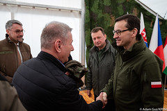 Obchody rocznicowe z okazji akcesji państw Grupy Wyszehradzkiej do NATO (Kancelaria Premiera) Tags: premier mateuszmorawiecki nato obchody 20lat grupawyszehradzka czechy słowacja węgry sojuszpółnocnoatlantycki