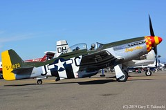 Lyon Air Museum - History on the Flight Line (g_takeuchi) Tags: lyonairmuseum museum aviaition 2019 california johnwayneairport airport orangecounty historyontheflightline airplane airplanes plane planes aircraft aeroplane aeroplanes warbird warbirds flyable airworthy worldwarii wwii worldwar2 ww2 war fighter dsc0151c northamerican p51d p51 mustang ladyalice 4511633 n151mw