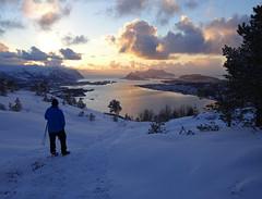 Evening walk (Mrs.Snowman) Tags: eveninglight hills ålesund sunnmøre hike walk westernnorway norway