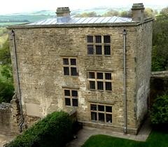 [73019] Hardwick Old Hall : West Lodge (Budby) Tags: hardwick oldhall englishheritage derbyshire lodge gatehouse 17thcentury
