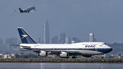 085A9012 G-BYGC (midendian) Tags: gbygc boac retrolivery britishairways speedbird b744 b747 747 747400 ksfo sfo sanfrancisco bayfrontpark airport aircraft airplane