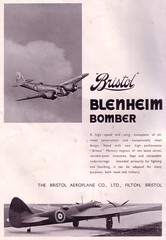BRISTOL BLENHEIM (old school paul) Tags: bristol blenheim vintage ads adverts 1937 aviation aircraft aeroplanes