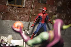 Mezco One 12 Spiderman Homecoming (ToyTallica) Tags: mezcotoyz mezco mezcoone12 mezcotoys spiderman peterparker homecoming marvel marvelstudios mcu toys toyphotography toytallica toycollecting toy 6inch one12
