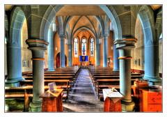 Eisenach - Pfarrkirche St. Elisabeth 05 (Daniel Mennerich) Tags: thuringia eisenach catholics
