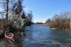 Croatia, Duga Resa, Mrežnica - Cold morning on river Mrežnica (Marin Stanišić Photography) Tags: mrežnica croatia river dugaresa karlovaccounty morning boat blue flickrunitedaward