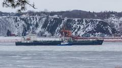 Bateau sur le fleuve Saint-Laurent - Québec, Canada  - 9924 (rivai56) Tags: bateau fleuve saintlaurent québec canada 9924 boat vue du parc boisdecoulonge