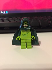 DC's Preying Mantis (Numbuh1Nerd) Tags: lego purist custom minifigures dc comics superheroes heroes supervillains villains wonder twins league annoyance scrambler malingerer drunkula aunt phetamine baron nightblood filo math