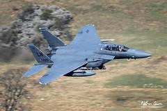 USAF Boeing F-15E Strike Eagle 97-0220 low level at Ullswater (NDSD) Tags: low level boeing f15e strike eagle usaf ullswater cumbria flying jet raf lake district lakenheath