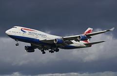 G-CIVN Heathrow 14-03-19 (IanL2) Tags: britishairways boeing 747 gcivn aircraft airliners london heathrow airport