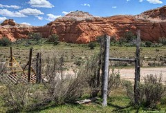 Gate and grated cattle guard in the Kodachrome Basin State Park in Southern Utah (PhotosToArtByMike) Tags: kodachromebasinstatepark cannonville utah ut gate cattleguard gratedcattleguard limestone erosion kodachromebasin monoliths canyon scenic desert goldensandstone rockspires spires landscape rockformations ruggedcliffs mountains desertlandscape nationalgeographicsociety expedition monolithicspires chimneys monolithicstonespires sedimentarypipes southernutah ive vanishing point comments shot great job with scales