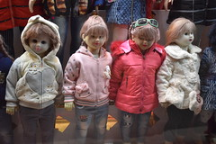 iran dec 18 (102) (gerboam) Tags: iran december 2018 mannequin coats clothes wigs scary little people