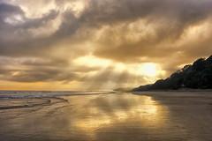 Quieter (LilaCheck ) Tags: tranquil peaceful coastal ocean light sunset beach peace quieter zen newzealand oceania pacificcean vast landscape golden sun glow