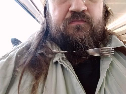 a Eurostar fork in my #beard