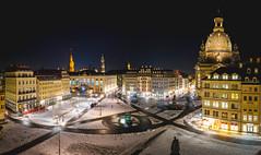 Neumarkt (Christoph Wenzel) Tags: nacht kirche deutschland sigma16mmf14dcdn sonyalpha6000 urlaub architektur dresden stadt winter panorama dunkelheit langzeitbelichtung sachsen de