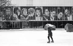 Skating on the Rink at Ryerson (Bill Smith1) Tags: ryerson believeinfilm billsmithsphotography canonnewf1 fdn50f14lens hc110b heyfsc kodaktrix4001600 toronto