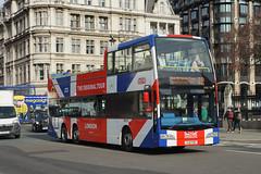 Original London - YJ11 TVP (peco59) Tags: yj11tvp volvo b9tl b9 optare opentopbus bus originallondon ratp psv pcv vxe731