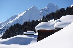 Picknick mit Aussicht (balu51) Tags: winter winterwanderung schneeschuhtour winterlandschaft berge schnee weiss blau graubünden januar 2019 copyrightbybalu51