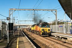 Essex Girl (Kingmoor Klickr) Tags: gordonedgar colas railfreight class70 betty 70803 dagenhamdock oxwellmains westthurrock cement essex