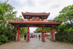 Shureimon 守禮門 (YY) Tags: shuricastle okinawa japan ryukyu ryukyukingdom castle naha 首里城 那霸 琉球 琉球王國 日本 沖繩 gate