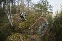 Cliff Beater (all martn) Tags: sachsenschweiz sächsischeschweiz elbsandsteingebirge mtb all mountain bike riding singletrack