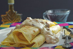 Ham & Cheese Crepes (Eat With Your Eyez) Tags: crepes crepe french breakfast street food cafe paris ham jambone cheese smoked swiss muenster flour egg melted butter fry swirl fill filling delicious brunch international internationalfood foodphotography foodstyling foodplating foodporn chef homemade cook pork pentax k200d