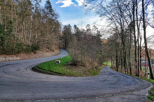 Road between Septfontaines and Goeblange