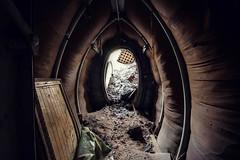 (franconiangirl) Tags: lazarett hilfslazarett feldlazarett ehemalig abandoned militarydecay decay derelict urbex ue verlassen verlaten abandonado nva gssd cccp underground bunker