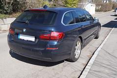 2013 BMW 5er F10 Kombi Heck (Joachim_Hofmann) Tags: bmw serier5 5er f10 kombi auto kraftfahrzeug kfz bayrischemotorenwerke münchen