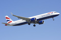 British Airways Airbus A321-251NX; G-NEOT@ZRH;23.03.2019 (Aero Icarus) Tags: zrh zürichkloten zürichflughafen zurichairport lszh plane avion aircraft flugzeug
