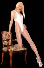 0106 (Youko_Kishida) Tags: fetish crossdresser tgirl leotard crossdressing pantyhose stocking tights lycra