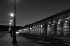 Pont de Bercy 2 (Morning) (Franck gallery) Tags: blackwhite bridge morning paris pont noirblanc matin d90